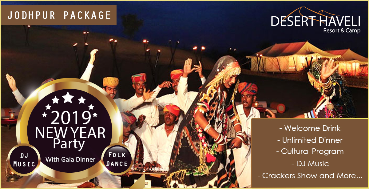 Enjoy the Best New Year Party 2019 in Jodhpur With Exciting Jodhpur Packages