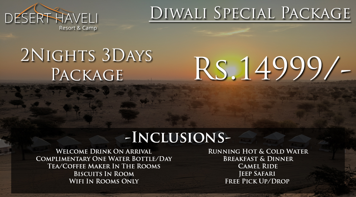 Get an Amazing Diwali Vacation Package For 2 Nights 3 Days in Jodhpur