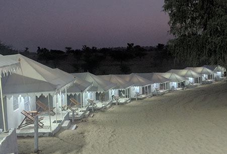 Luxury Tent in Jodhpur